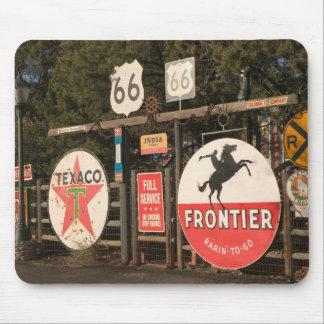 USA, Arizona, Sedona: Antique Advertising Signs Mouse Pad