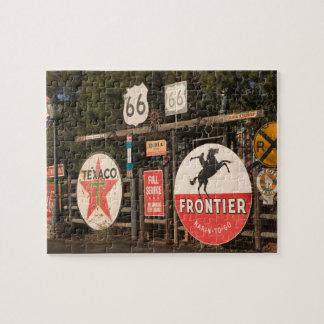 USA, Arizona, Sedona: Antique Advertising Signs Puzzles