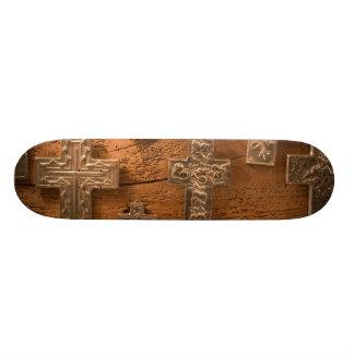 USA, Arizona, Tubac: South Arizona's Premier 3 Skate Board Deck
