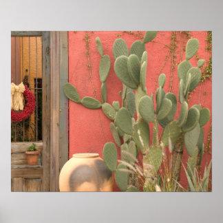 USA, Arizona, Tucson: Presidio Historic District 2 Poster