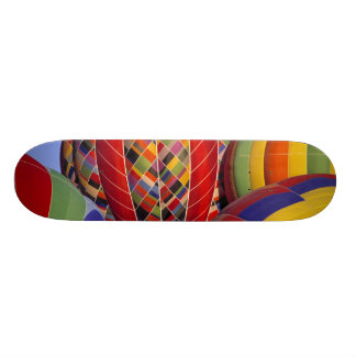 USA, Arizona, Val Vista. Colorful hot-air Skate Board