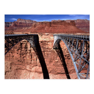 USA, Arizona, View of Navajo Bridge in Grand Postcard