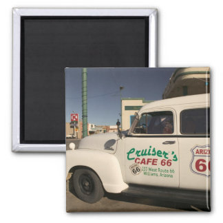 USA, Arizona, Williams: Cruisers Cafe 66 Old Magnet