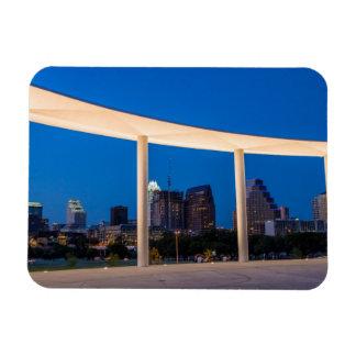 USA, Austin, Texas USA, Texas, Austin Rectangular Photo Magnet