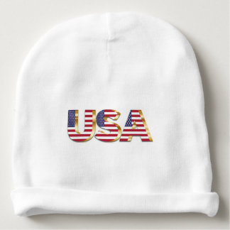 USA Baby Beanie