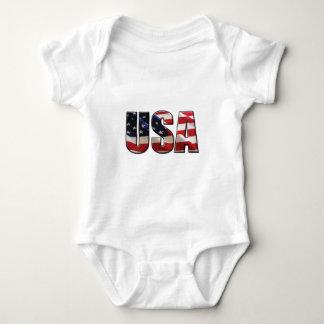 USA BABY BODYSUIT