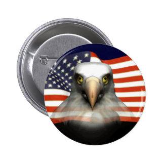 USA Bald Eagle Buttons