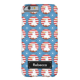 USA bald eagle pattern Barely There iPhone 6 Case