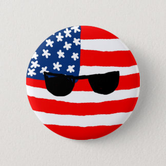 USA Ball 2 Inch Round Button