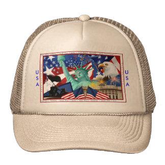 USA Baseball Cap Trucker Hat