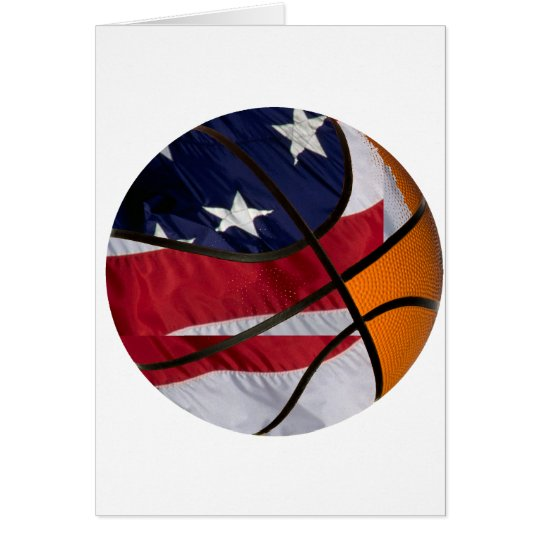 USA Basket Ball Card