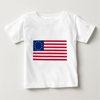 USA Betsy Ross Flag Baby T-Shirt
