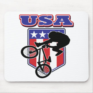 USA-BMX Biker Mouse Pad
