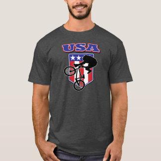 USA-BMX Biker T-Shirt