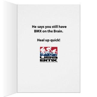 USA BMX Get Well Card