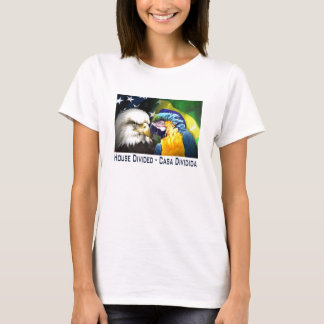 USA/Brazil house divided T-Shirt