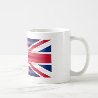 USA BRITISH FLAG COFFEE MUG