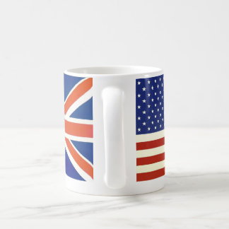 USA British flags Coffee Mug