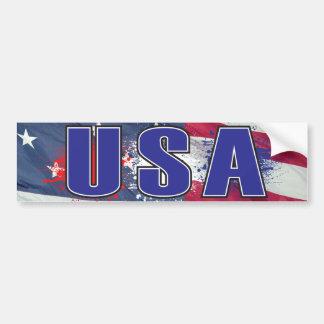 USA Bumpersticker Bumper Sticker