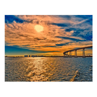 USA, CA, San Diego-Coronado Bay Bridge Postcard