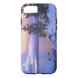 USA, California. A winter day at Lake Tahoe. iPhone 7 Case