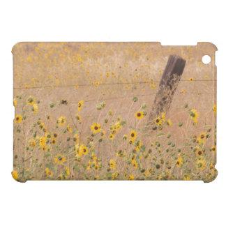 USA, California, Adin. Barbed-Wire Fence Case For The iPad Mini