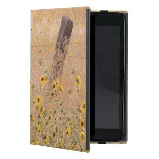 USA, California, Adin. Barbed-Wire Fence Covers For iPad Mini