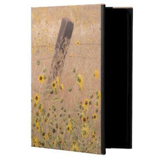 USA, California, Adin. Barbed-Wire Fence iPad Air Case