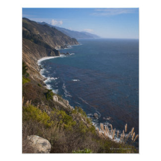 USA, California, Big Sur, Rugged coastline Poster