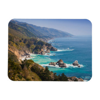 USA, California. California Coast, Big Sur Magnet