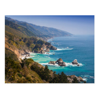 USA, California. California Coast, Big Sur Postcard