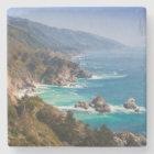 USA, California. California Coast, Big Sur Stone Coaster