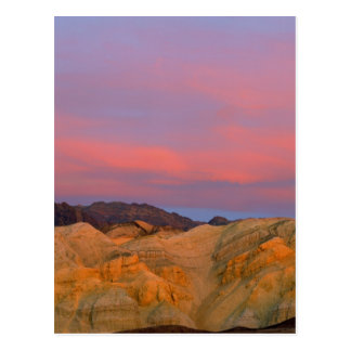 USA, California, Death Valley NP. Sunset offers Postcard