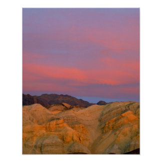 USA, California, Death Valley NP. Sunset offers Poster