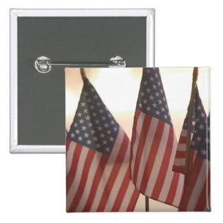 USA, California, Gold Country, Amador City: 2 Inch Square Button