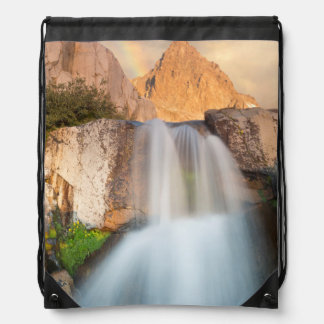 USA, California, Inyo National Forest. Waterfall Cinch Bags