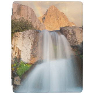 USA, California, Inyo National Forest. Waterfall iPad Cover