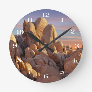 USA, California, Joshua Tree National Park Round Clock