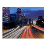 USA, California, Los Angeles, 110 Freeway Postcards