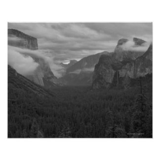 USA, California, Mariposa County, Yosemite Poster