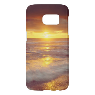 USA, California, San Diego. Sunset Cliffs beach Samsung Galaxy S7 Case