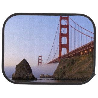 USA, California, San Francisco. Golden Gate 3 Car Mat