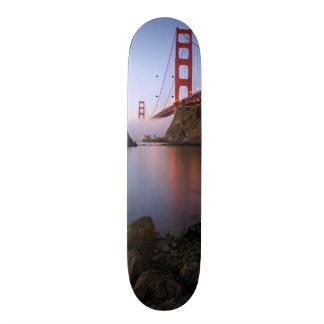 USA, California, San Francisco. Golden Gate Skate Deck