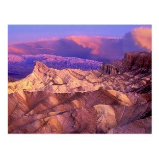 USA, California. View from Zabriske Point of Postcard