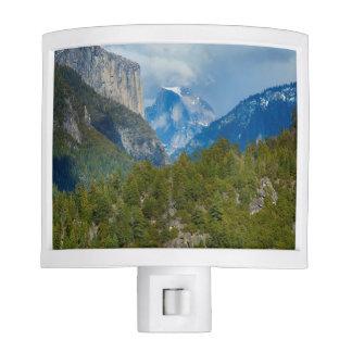 USA, California. View Of Half Dome In Yosemite Night Lights