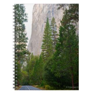 USA, California, Yosemite National Park, El 4 Notebooks
