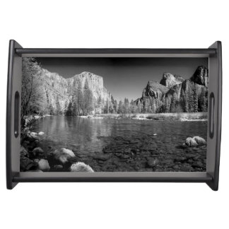 USA, California. Yosemite Valley View Serving Tray