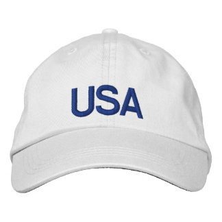 USA Cap Embroidered Hats