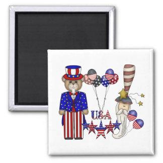 USA Celebration Magnets