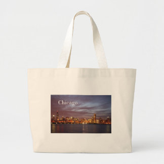 USA Chicago St.K) Large Tote Bag